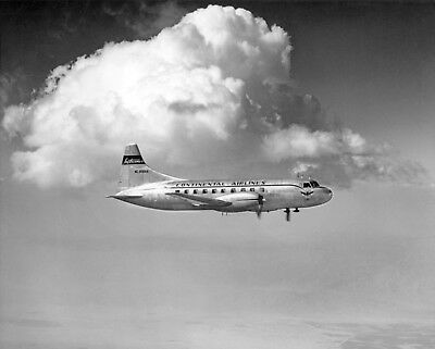 "Continental Airlines Convair 240 ((16""x20"")) Print"
