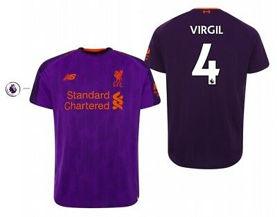 1fad41cd0 Trikot New Balance FC Liverpool 2018-2019 Away PL - Virgil van Dijk 4