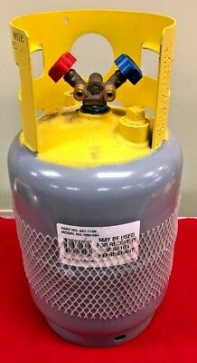Refrigerant Recovery Reclaim Cylinder Tank - 30lb Pound 400 PSI Reusable