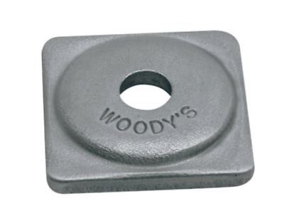 Woody's Grand Master Square Grand Digger Support Plates 48 Pack ASG-3775-48