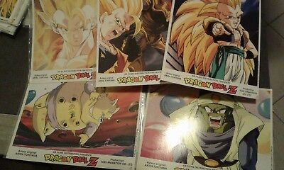 affiches cartonnees A/4 dragon ball Z