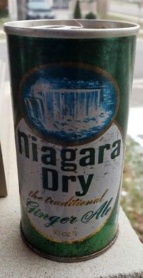 Stunning Niagara Dry Pic Of The  Falls Unopened Empty Can Pull Tab Ontario