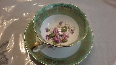 Vintage Tea Cup And Saucer Made By Paragon