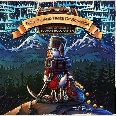 """TUOMAS HOLOPAINEN """"The Life And Times Of Scrooge"""" RUSSIAN EDITION"""