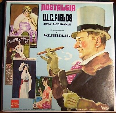 W.C.Fields - Nostalgia - Mark56 Picture disc mit Cover - Coca Cola