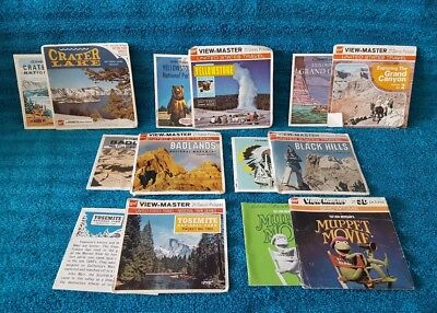 Viewmaster - Lot Of Covers And Booklets From Reel Sets - No Reels Included