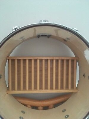 bespoke drum Cd Holder (drummer, studio,home decor)