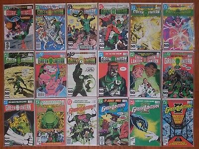 GREEN LANTERN/GREEN LANTERN CORPS LOT OF 30 COMICS between #'s 186 & 224 1985-88