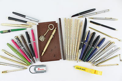 40 x Assorted Vintage WRITING INSTRUMENTS Inc. Ballpoints, Rollerballs, Pencils