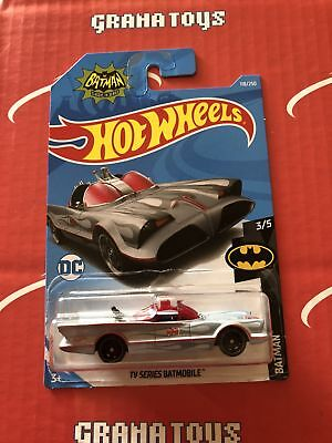 TV Series Batmobile #118 Batman 2019 Hot Wheels Case E