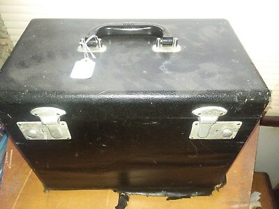 Singer Featherweight Case only w/o lift up tray Black