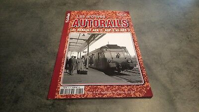 revue le train les archives autorails n° 75