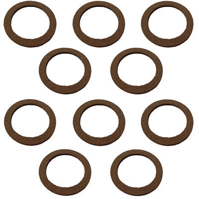 180060M1 Lot of 10 Sediment Bowl Gasket for Massey Ferguson Tractor TO20 TO30
