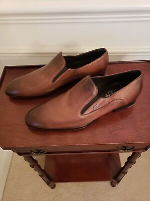 DOUCAL'S HAND MADE In Italy Double Monk Strap cap toe