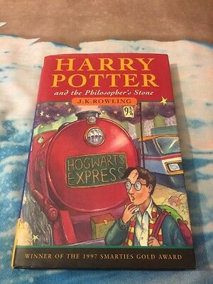 Harry Potter And The Philosopher's Stone, J.K.Rowling.1st  Bloomsbury .HBDJ