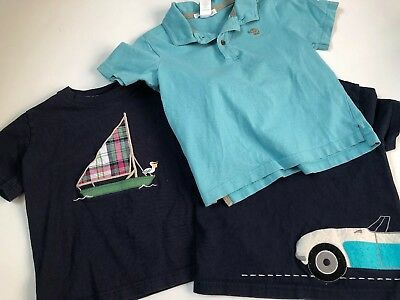 Janie and Jack Lot 3 Shirts Size 3