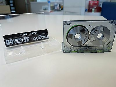 Magna reel-to-reel SuperFerro C-60 audio cassette