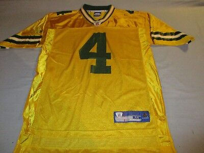 Green Bay Packers USA NFL American Football Medium mans Favre no4 reebok Jersey