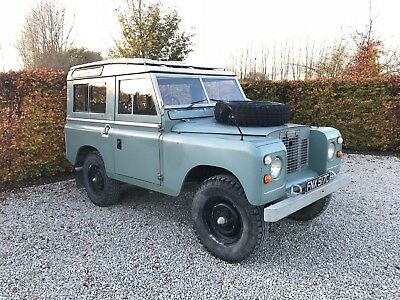 Land Rover Series 2a 1965 SWB 88 Station Wagon