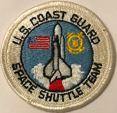 "US Coast Guard USCG NASA Space Shuttle Team 3"" Patch"
