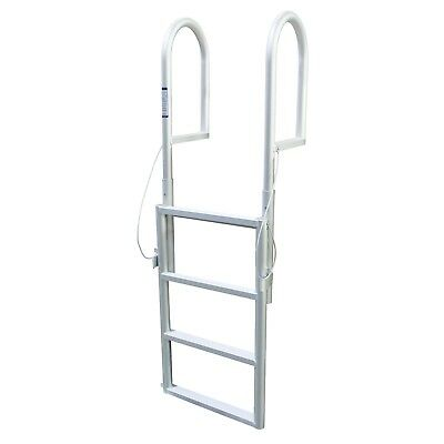 HOT SALE STAINLESS Steel Inboard Boat 4 Step Ladder Dock Ladder