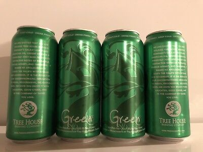 TREE HOUSE BREWING CO GREEN BEER CANS hazy monkish heady juice king trillium 1/9