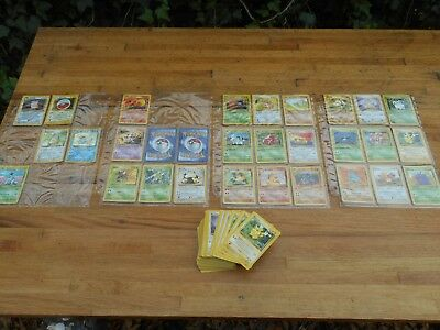 Pokemon Jungle Base Unlimited Series Near Complete Set NM/M 6 Holographic Cards