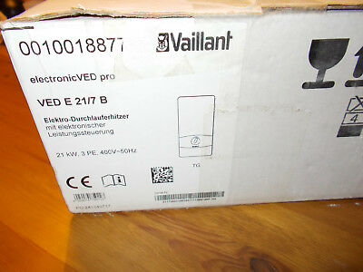 Vaillant Durchlauferhitzer electronic VED E 21/7 B pro