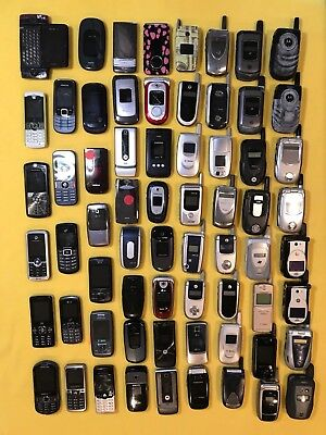 66 Cell Phones (16 lbs.) - Scrap, Parts, Repair, Gold Recovery