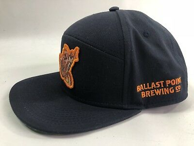 BALLAST POINT BREWING Co ~Snap Back~ Beer Hat~ Sculpin IPA~San Diego ... 38630de4d57a