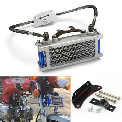 Oil Cooler Cooling Radiator For 50 70 90 110CC Dirt Pit Bike Motorcycle ATV Well