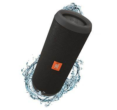 JBL Flip 3 Black  Open Box Splashproof Bluetooth Speaker