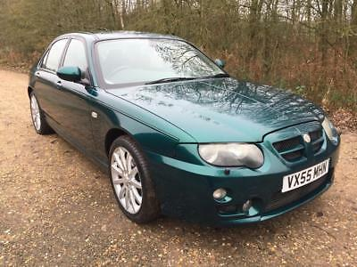 2006 MG ZT 2.0 CDTi 135 + In Green with Half Leather