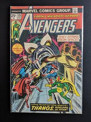 Avengers 116, 117, 118, 119, 120, 125, 127 Thanos, Defenders, Vision