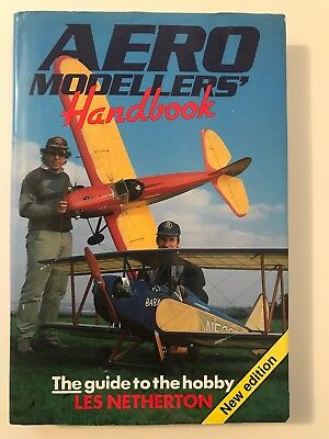 Aero Modellers' Handbook The Guide To The Hobby By Les Netherton V G Condition