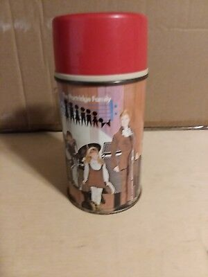 THE PARTRIDGE FAMILY LUNCH BOX THERMOS 1971 Vintage