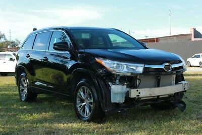 2015 Toyota Highlander XLE 4dr SUV 2015 Toyota Highlander XLE EXPORT ONLY, REPAIRABLE