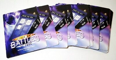 18 x DR WHO BATTLES IN TIME CARDS trading cards rare collection bundle job lot