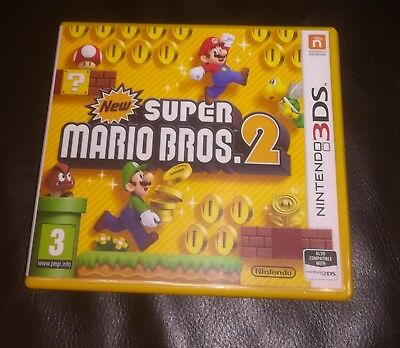 New Super Mario Bros 2 Nintendo 3DS - GAME CASE ONLY