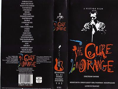 VHS THE CURE In orange 1987