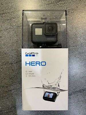 GoPro HERO (2018) Action Camera, Black, 32GB SD Card, Plus 97cm Extension Pole