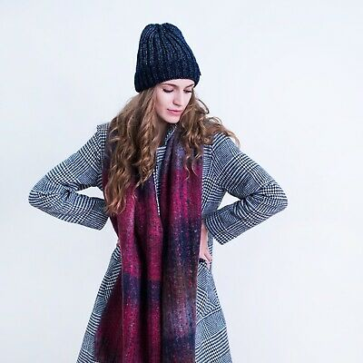 Thermal Insulation Mens Womens Cosy Warm Winter Hat Beanie Bobble Fashion