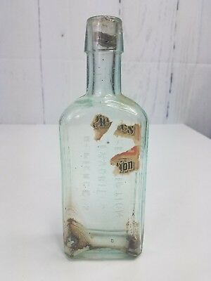 Vintage Dr. Pierces Favorite Prescription Apothecary Medicine Bottle Buffalo NY
