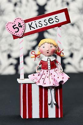 Lori Mitchell™ - 5¢ Kisses - Valentine's Day Kissing Booth Girl - Figurine 11124