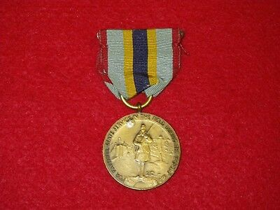 Original WWI New York State Service in the Field Medal - Serial # 2896