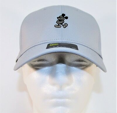 Disney Parks Exclusive Mickey Icon Lite Grey Nike Dri Fit Golf Cap Hat  BRAND NEW 29980222ee8