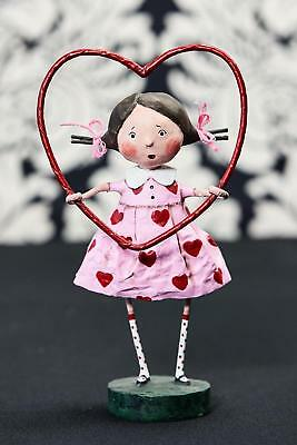 Lori Mitchell™ - Framed with Love - Valentine's Day Heart Girl Figurine - 11127