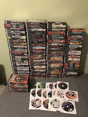 Huge Lot of Over 200 Sony Playstation 2 PS2 Games Most Complete FREE SHIPPING!