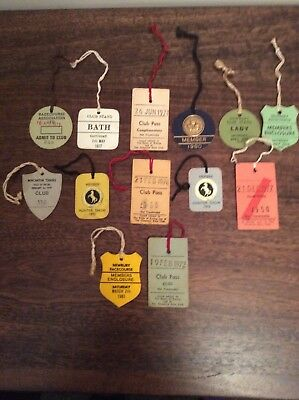 horse racing members Enclosure Tags Tickets