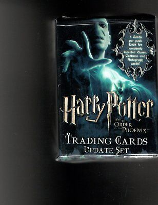 Harry Potter The Order of the Phoenix update card set